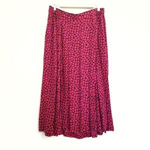 VTG NWT Liz Claiborne Elisabeth Floral Print Skirt